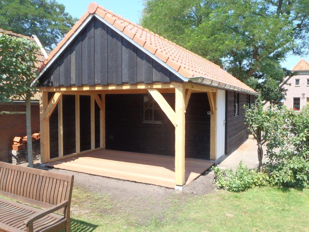 Ongekend Nieuwbouw schuur, tuinhuis en carport RX-61
